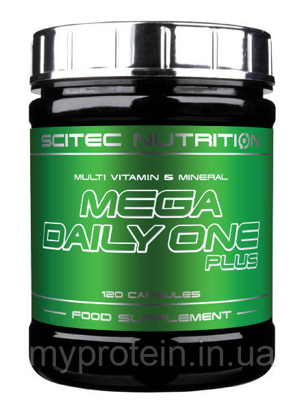 Scitec Nutrition Витамины и минералы Mega Daily One Plus (120 caps)