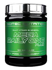 Scitec Nutrition Витамины и минералы Mega Daily One Plus (120 caps)