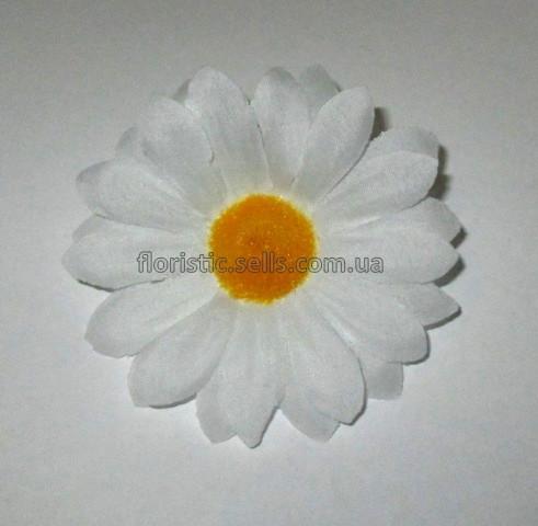 Головка ромашки белая, 7,5 см