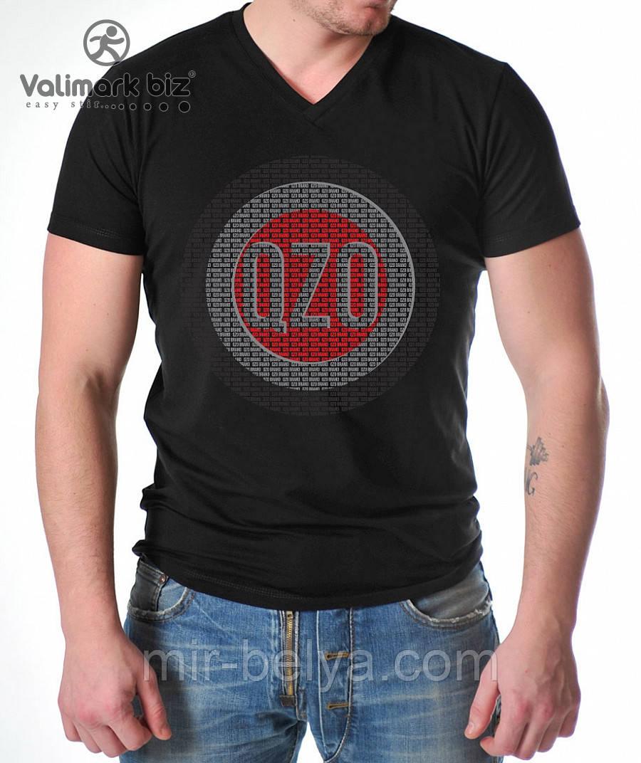 Футболка мужская   QZO & Valimark-Biz