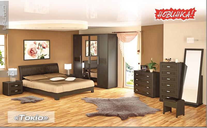 Спальня Мебель-Сервис «Токио»