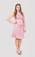 Лёгкое женское платья с цветами