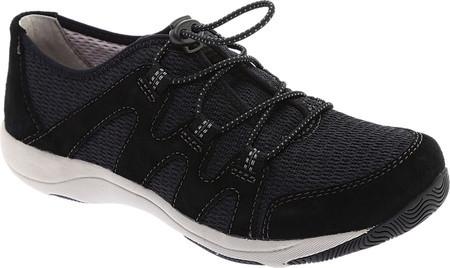 dbcab20f6 Женские кроссовки Dansko Holland Sneaker Black Suede/Mesh - SaleUSA