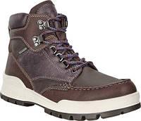 Женские ботинки ECCO Track 25 High Ankle Boot Navajo Brown Navajo Brown  Leather Nubuck 05249cf522f5a