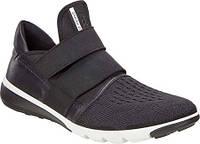 Женские сандали ECCO Intrinsic 2 Band Adjustable Shoe Black Black Textile  Yak Leather fe8d8e212c45a