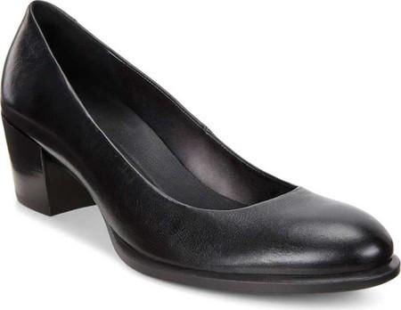 Женские Туфли на Каблуке ECCO Shape 35 Pump Black Cow Leather — в ... e27a3b6b767cd