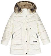 Пальто Joy Lenne 18360/100, молочный, 146