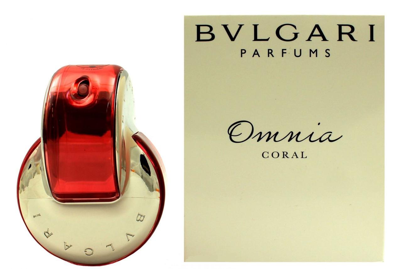 Bvlgari Omnia Coral туалетная вода 65 ml. (Тестер Булгари Омниа Корал)