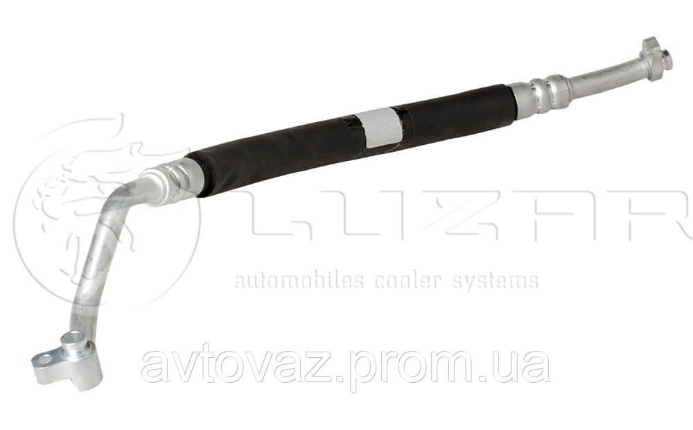 Трубопровод, трубка кондиционера ВАЗ 2170, 2172 Приора компрессора (всасывающий) А/С Halla (LPa 01271) ЛУЗАР