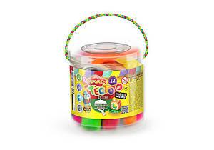 """Детское тесто для лепки """"Master-Do"""" 12 цветов Danco Toys"""