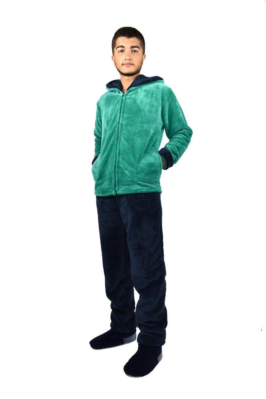776738996f5 Мужской домашний теплый костюм с капюшоном - Интернет-магазин Selim-tekstil  в Одессе