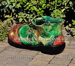 Подставка для цветов кашпо Ботинок малый, фото 2