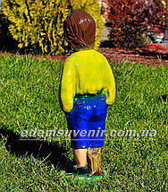 Подставка для цветов кашпо Мальчик с корзиной, фото 2