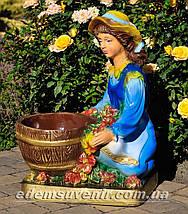 Подставка для цветов кашпо Галочка, фото 2
