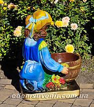Подставка для цветов кашпо Галочка, фото 3