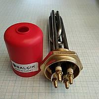 """Блок Тэнов 4000w с резьбой 1,5""""дюйма Balcik(Турция) для котлов и электрических систем отопления"""
