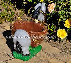 Подставка для цветов кашпо Ослик малый, фото 3