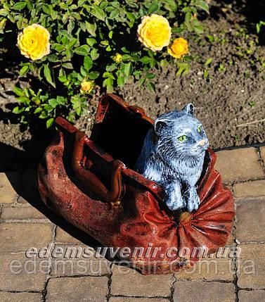 Подставка для цветов кашпо Саквояж малый, фото 2