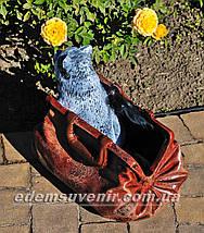 Подставка для цветов кашпо Саквояж малый, фото 3