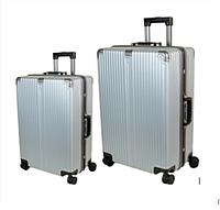 Комплект дорожных чемоданов из поликарбоната 2в1 (72л + 40л) F02, фото 1