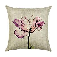 Декоративная подушка Тюльпан 45 х 45 см Berni