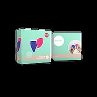 Набор менструальных чаш Fun Cup размер А и B Менструальные чаши