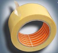 Скотч двухсторонний на тканевой основе 50 мм х 25 м