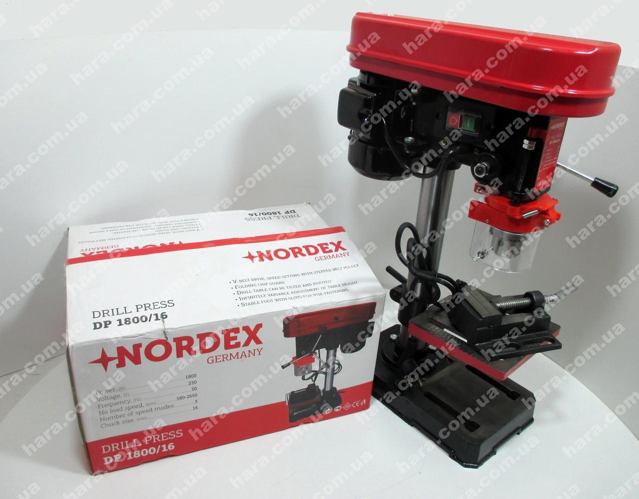 Сверлильный станок Nordex DP 1800/16 (1.8 Квт)
