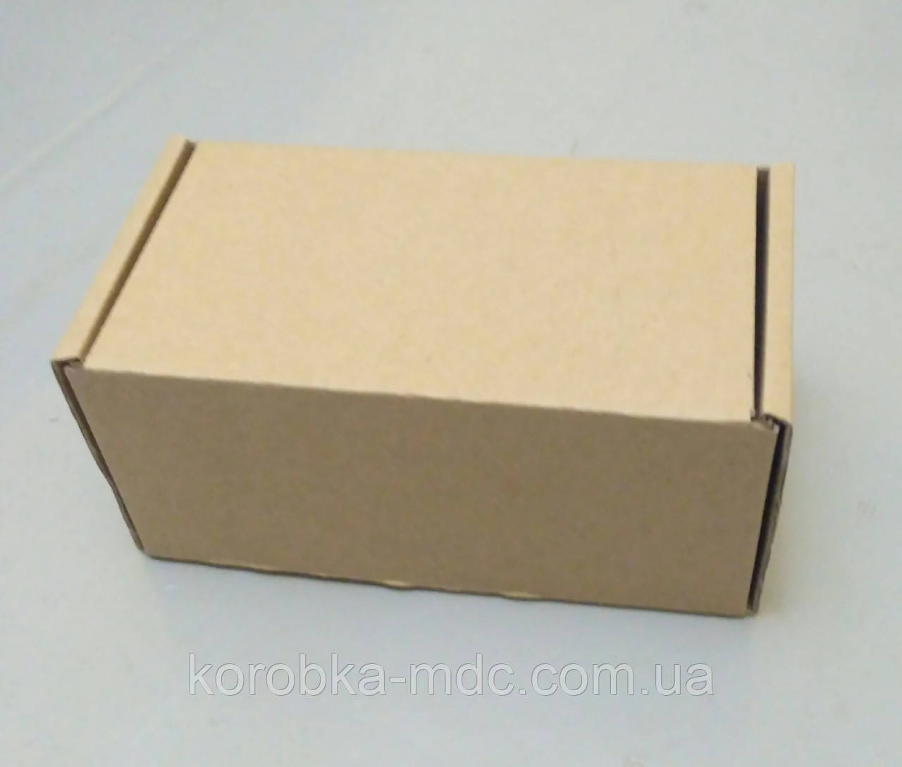 Коробка бурая 160х90х80 самосборная (шкатулка)