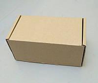 Коробка бурая 160х90х80 самосборная (шкатулка), фото 1