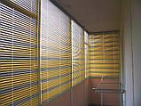 Горизонтальные цветные алюминиевые жалюзи 16 мм, фото 2