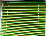 Горизонтальные цветные алюминиевые жалюзи 16 мм, фото 10