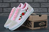Кеды низкие женские Vans Old Skool Roses