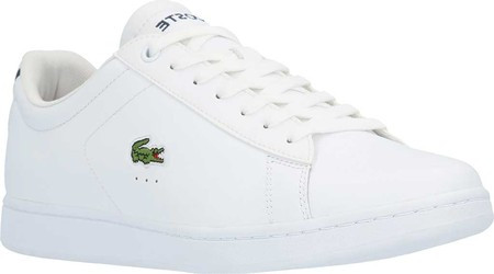 a8b69633 Мужские кроссовки Lacoste Carnaby EVO Leather Sneaker White  Leather/Synthetic - SaleUSA