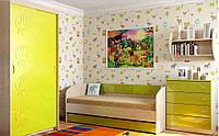 Детская комната Маугли Санти Мебель лайм