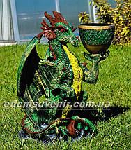 Подставка для цветов кашпо Дракон большой, фото 3