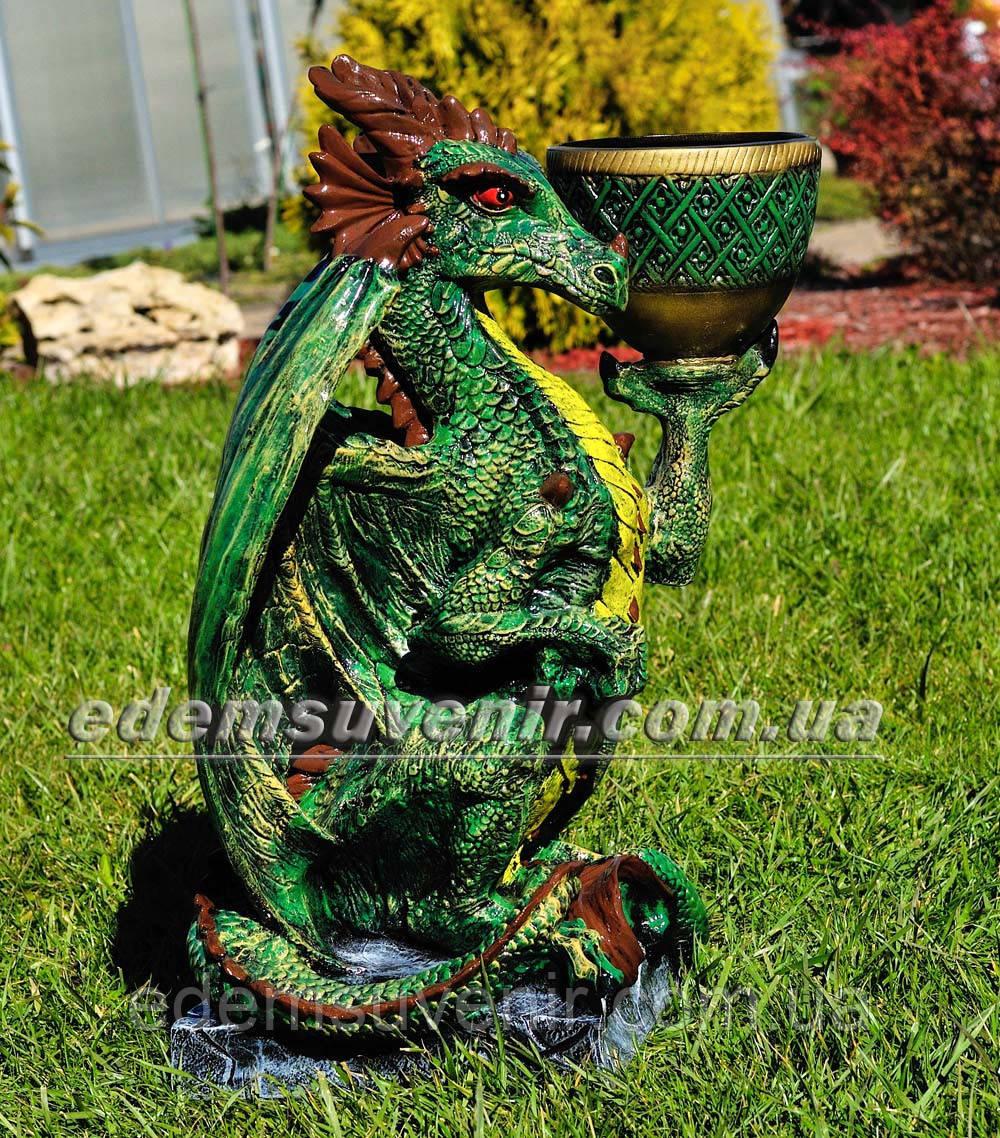 Подставка для цветов кашпо Дракон большой