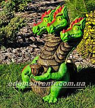 Садова фігура Змій Горинич з ліхтарем, фото 2