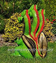 Садова фігура Змій Горинич з ліхтарем, фото 3