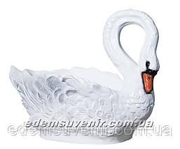 Подставка для цветов кашпо Лебедь большой, фото 2