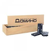 Домино M 0027, в деревянной кор-ке, 14, 5-5-3см