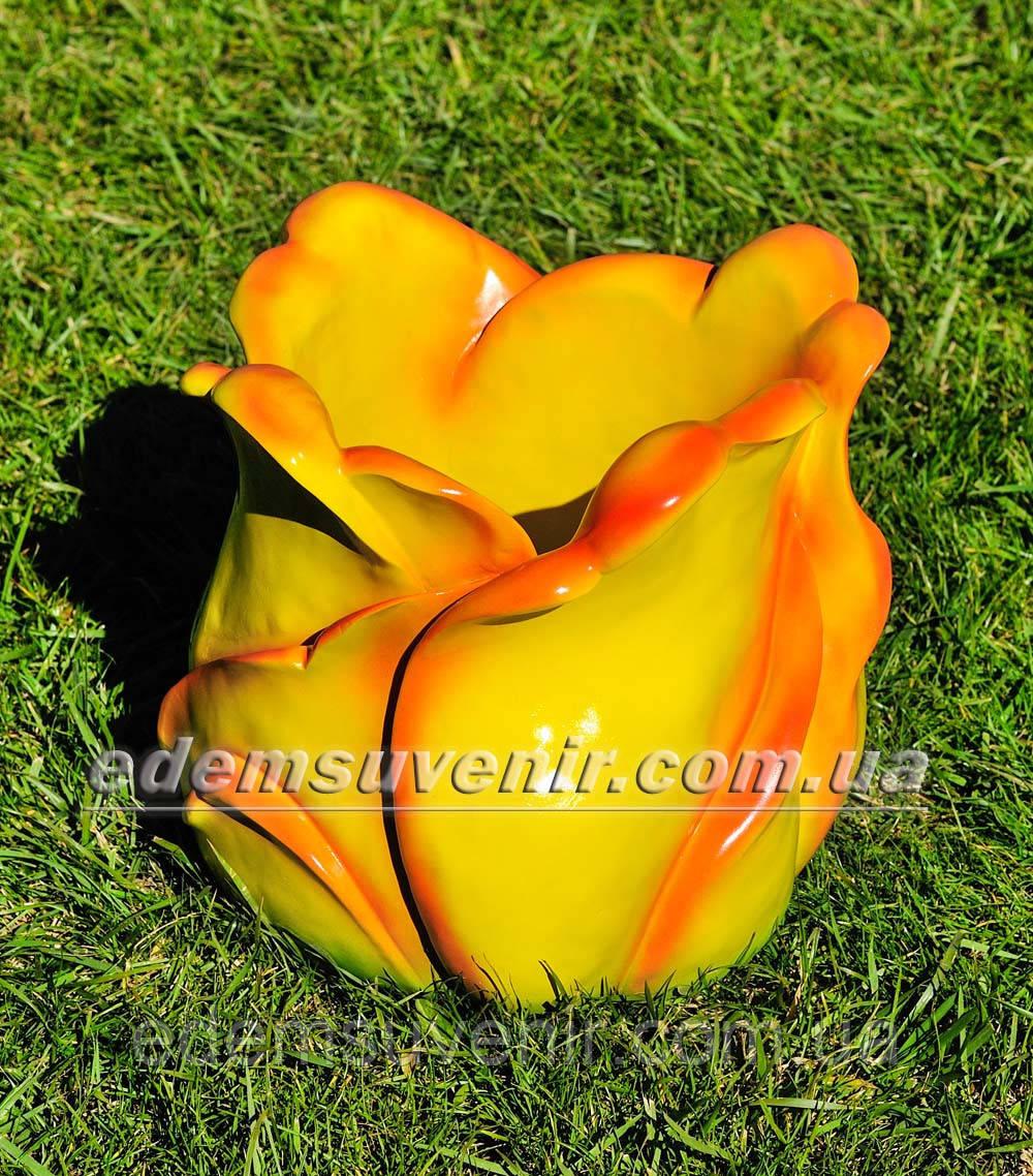 Подставка для цветов кашпо Тюльпан