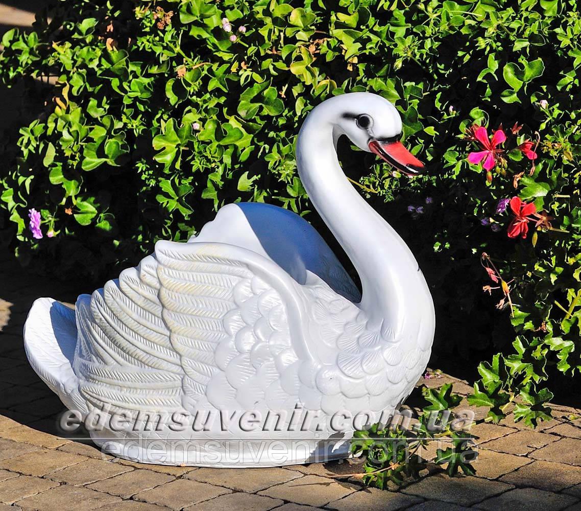 Подставка для цветов кашпо Лебедь малый