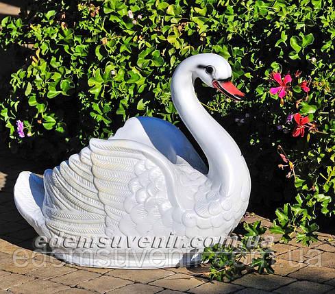 Подставка для цветов кашпо Лебедь малый, фото 2