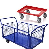 Тележки для склада и супермаркета
