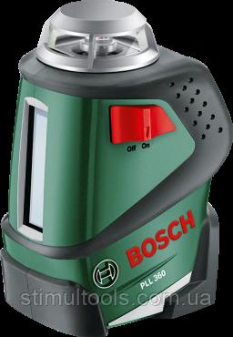 Лазерный контрольный нивелир Bosch PLL 360