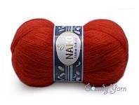 Nako Mohair Delicate, Красный №06150