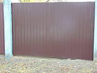 Ворота з профнастила В-70