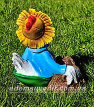Подставка для цветов кашпо Петушок, фото 3