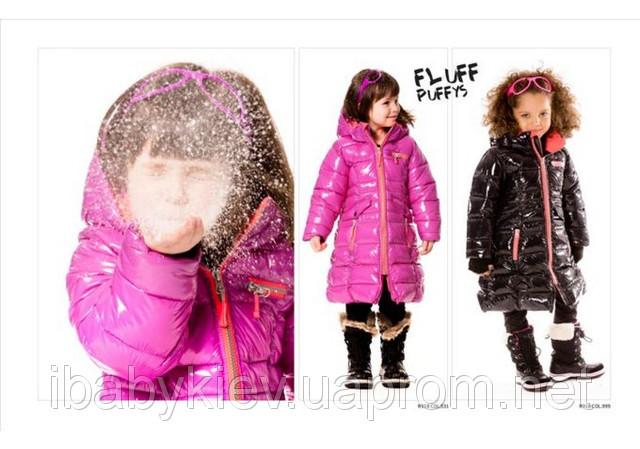 Зимнее пальто-пуховик PUFFYS для девочки (р. 146-152) ТМ Deux par Deux